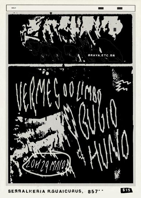 Bugio + Vermes do Limbo + Huno na Serralheria /SP