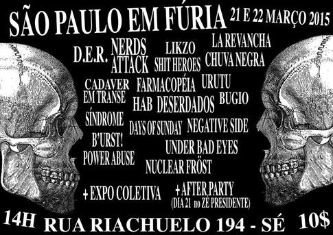 Bugio no Festival São Paulo em Fúria /SP