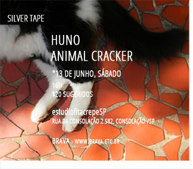 [Silver Tape] HUNO e Animal Cracker no estudiofitacrepeSP