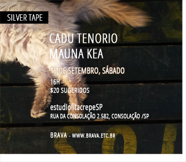 [Silver Tape] Cadu Tenório e Mauna Kea no estúdiofitacrepeSP