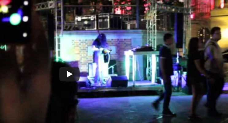 [video] Alan Courtis (ARG) no Festival Eletronika 2015, Praça da Liberdade /BH