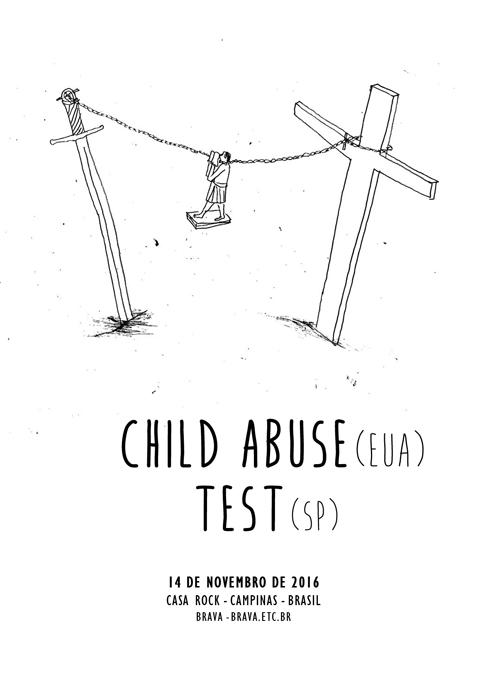 Child Abuse (EUA) e Test na Casa Rock /Campinas