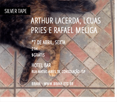 [Silver Tape] Arthur Lacerda, Lcuas Pries e Rafael Meliga no Hotel Bar /SP