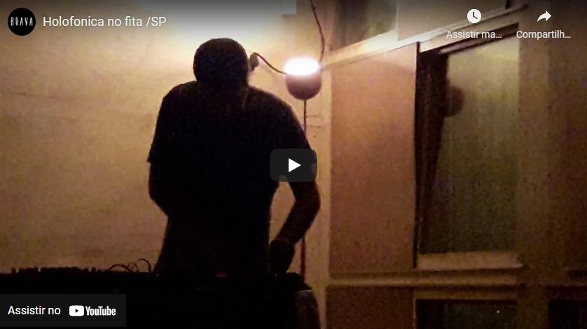 [video] Holofonica no Silver Tape /estudiofitacrepeSP