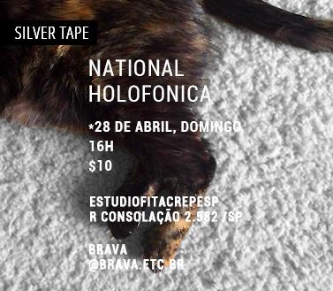 [Silver Tape] National e Holofonica no estudiofitacrepeSP