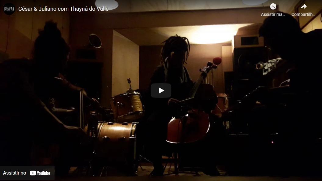 [video] César & Juliano com Thayná do Valle no Silver Tape /estudiofitacrepeSP