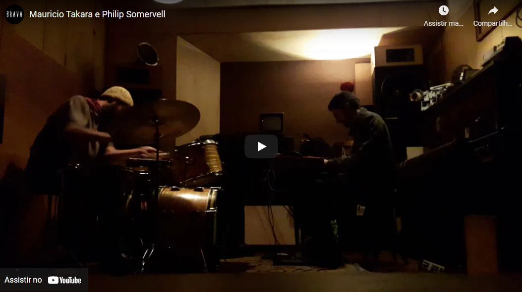 [video] Mauricio Takara e Philip Somervell no Silver Tape /estudiofitacrepeSP