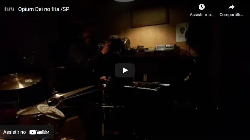 [video] Opium Dei no Silver Tape /estudiofitacrepeSP