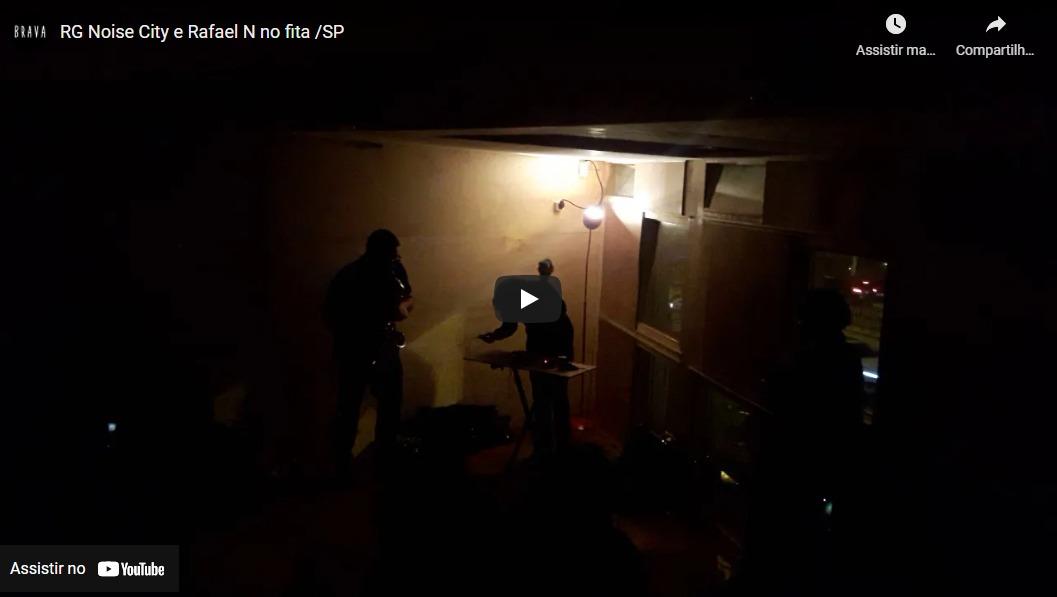 [video] RGNoise City e Rafael N no Silver Tape /estudiofitacrepeSP