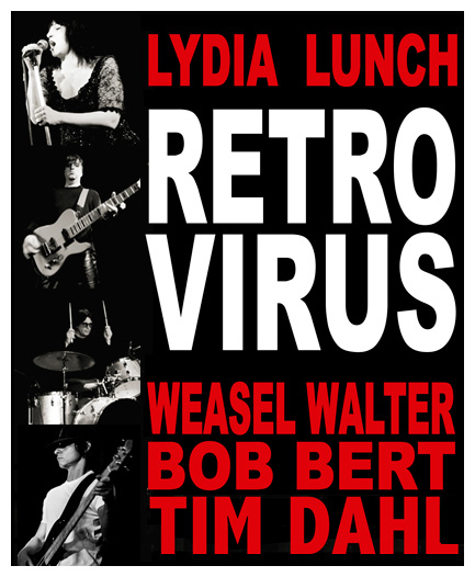 Lydia Lunch Retrovirus (EUA) no SESC Belenzinho /SP
