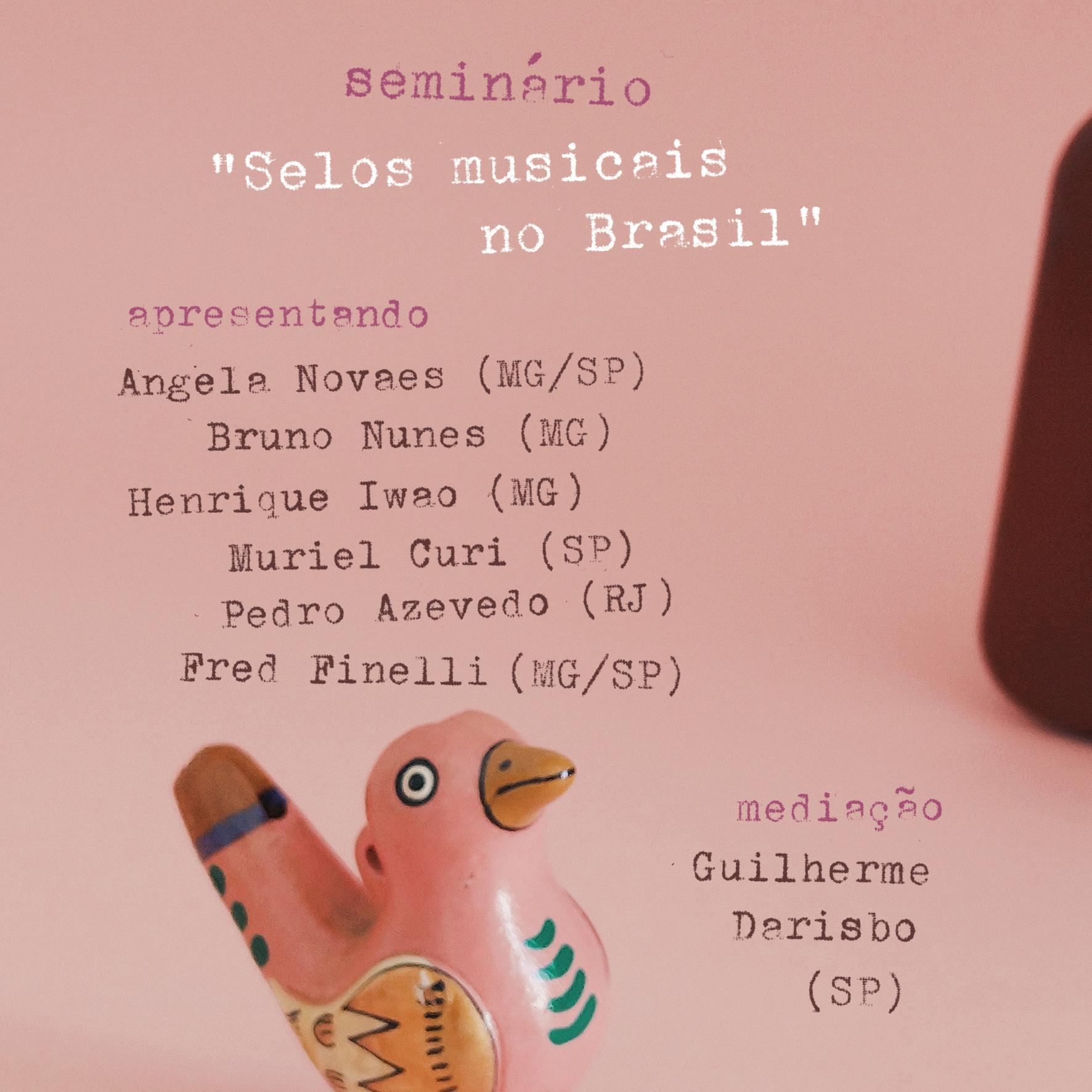 """Festival Pequenas Sessões 2021 – conversa sobre """"Selos musicais no Brasil"""""""
